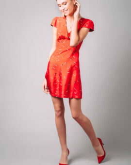 Marc Jacobs Red Mini Dress