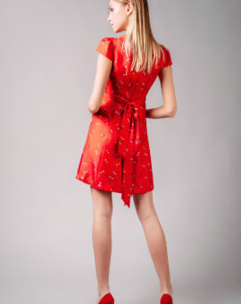 Marc Jacobs Red Mini Dress baksida