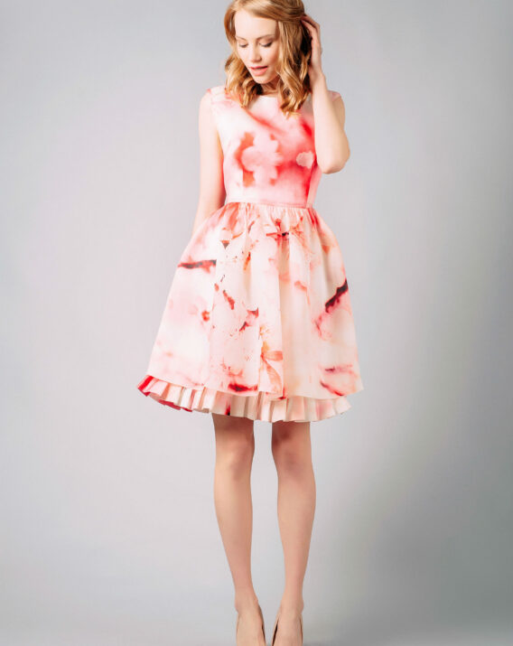 Alice and Olivia Catherine silk dress