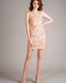 Needle and Thread Floral Embroidered Lace Dress