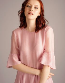 Rent HM Conscious Exclusive Pink Frill Dress