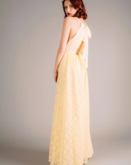 Zetterberg Yellow Lace Dress