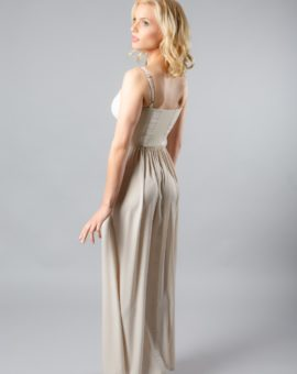 Rent BCBG Max Azria Beige Kyra dress