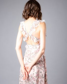 Hyra festklänning For Love and Lemons Bee Balm floral Maxi dress