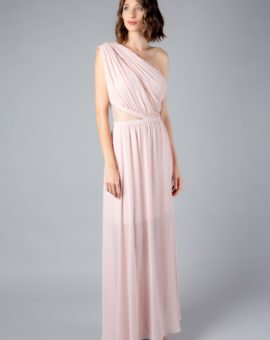 Laundry by Shelli Segal Pink One shoulder Gown