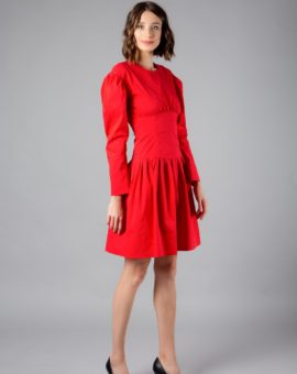 Sonia Rykiel Red Dress