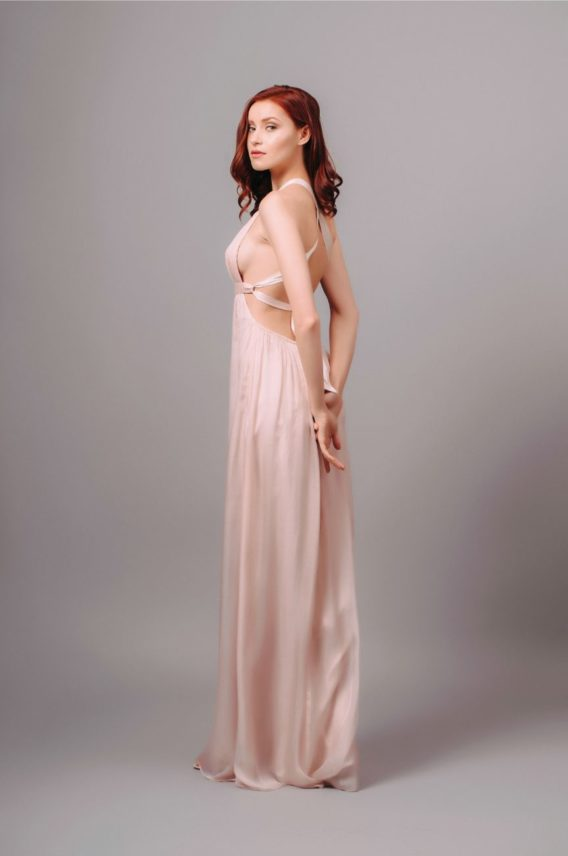 By Malina Wiki Dress Pink