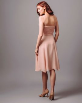 Rent Coast Pink Silk Midi Dress