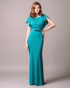 Two by Rosa Clara Green Jersey Dress