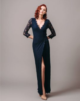 Diane von Furstenberg Lace Wrap Dress