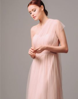 Jenny Yoo Convertible Tulle Dress