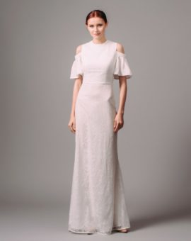 By Malina White Reina Dress