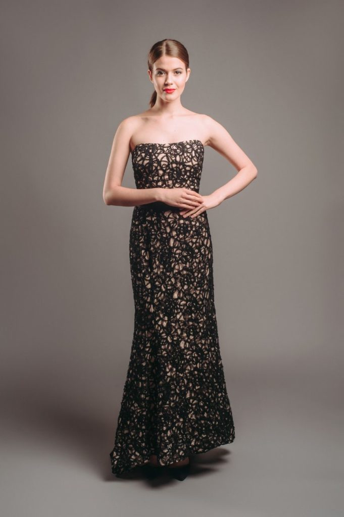 Phase Eight Embroidered Floral Maxi Dress