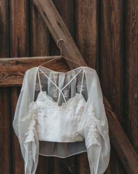 Topp och bolero Kaprifol Zäta Bridal - The WOW Closet
