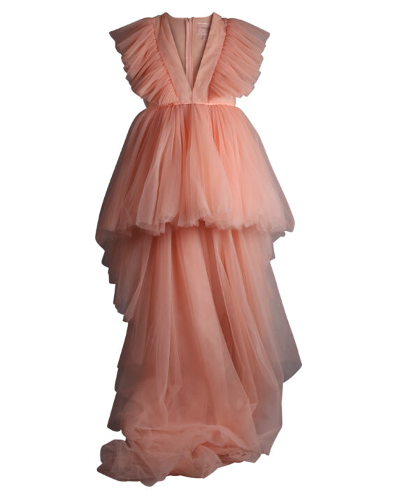 Rent Giambattista Valli x H&M - Peach High-Low Tulle Dress