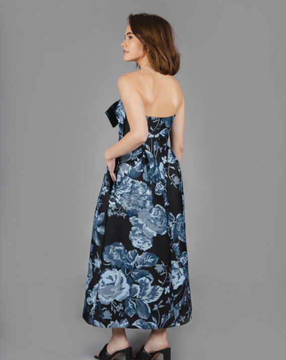 Rent H&M Conscious Exclusive - Jacquard Floral Midi Dress