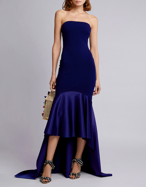 Solace London - Kerama Strapless Dress
