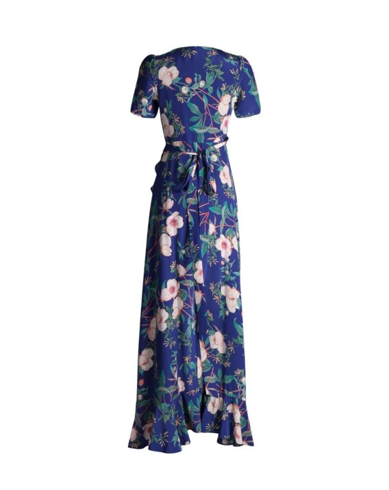 Rent By Malina - Alba Floral Wrap Dress