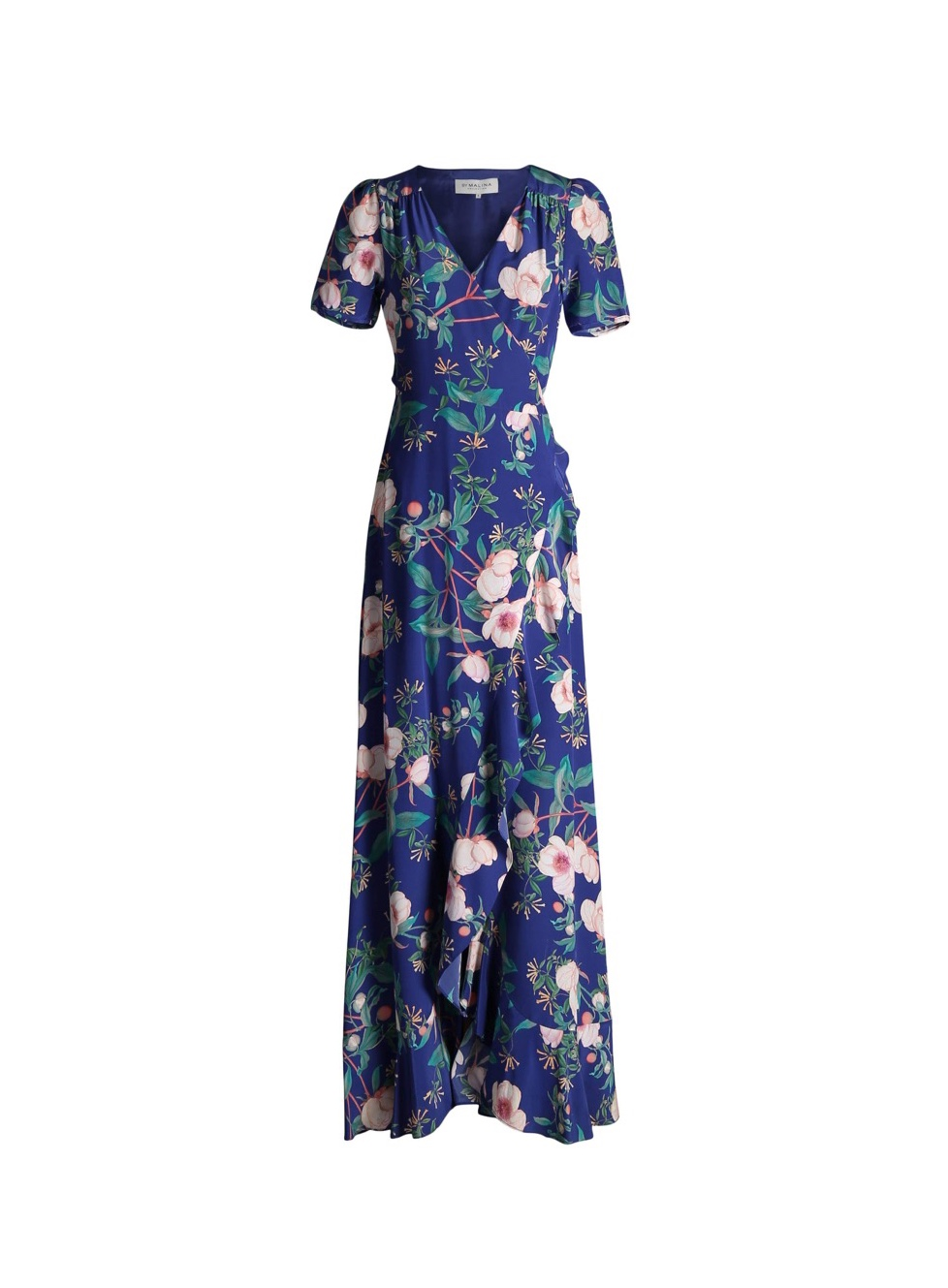 By Malina - Alba Floral Wrap Dress
