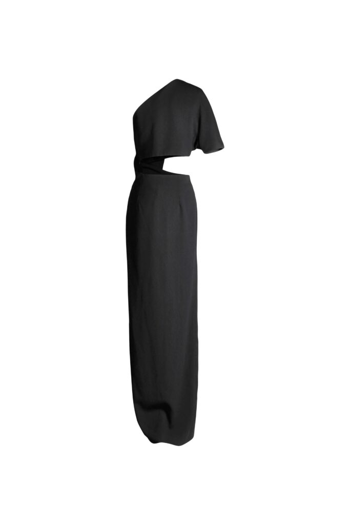 Rent Solace London - One Sleeve Maxi Dress
