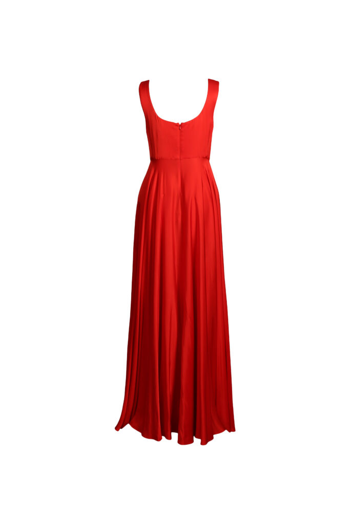 Rent Solace London - Naie Dress Red