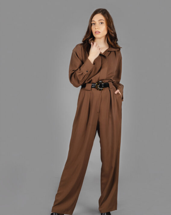 Massimo Dutti - Jumpsuit with pin tucks