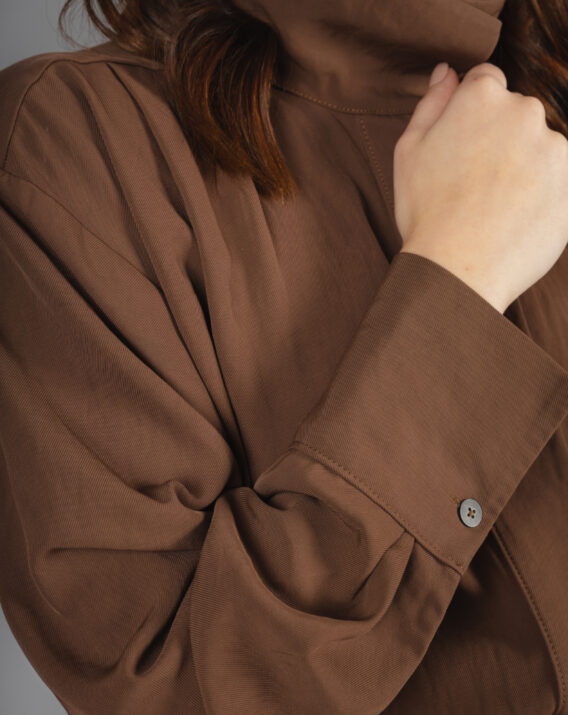 Massimo Dutti - Jumpsuit with pin tucks detail
